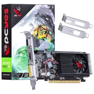 PLACA DE VÍDEO PCYES GEFORCE 8400GS 1GB DDR2 64 BITS