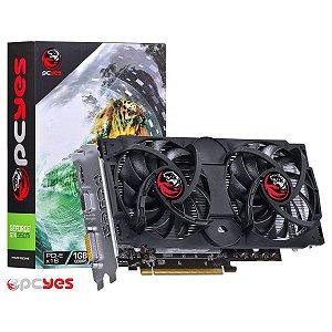 PLACA DE VÍDEO PCYES GEFORCE GTX550TI 1GB DDR5 192 BITS