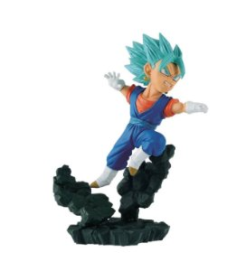 ACTION FIGURE DRAGON BALL SUPER - DIORAMA - WCF VEGETTO BLUE