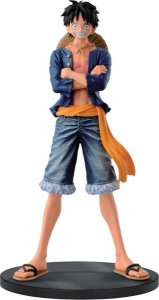 ACTION FIGURE ONE PIECE JEANS FREAK VOL.1 LUFFY (AZUL)