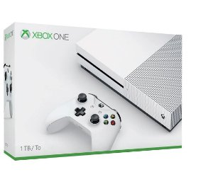 Xbox One S 1 TERA  Slim 4k Branco