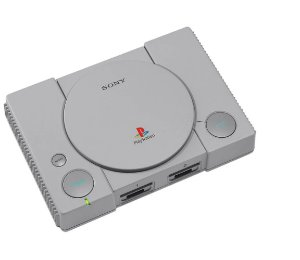 Console sony playstation ps1 classic  2 CONTROLES + 20 JOGOS
