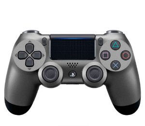 CONTROLE PLAYSTATION 4 ORIGINAL STELL BLACK