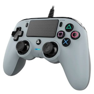 Controle Pro Nacon Wired Gray Para Ps4