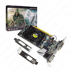 Placa de Video Nvidia Geforce Gt210 DDR3 1Gb 600MHz (PV-02) -FS