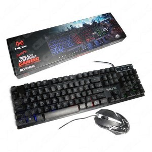 Teclado e Mouse Gamer USB Led RGB Luminoso (MO-KM445) S