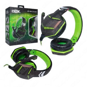 Fone de Ouvido Headset Gamer P3 Pc Ps4 Xbox One - Cabo 1.5m (DF-500)-S