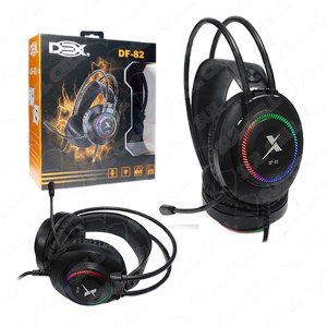 Fone de Ouvido Headset Gamer Usb P2 Luz Led - (DF-82)