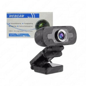 Webcam Full Hd 2Mp c/ Microfone Usb 2.0 (CAMRS)-S