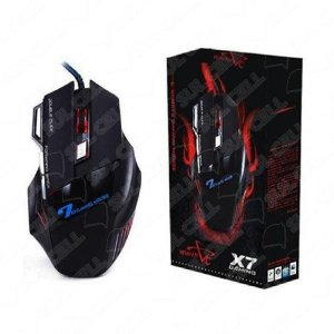 Mouse Gamer Usb 2400Dpi 7 Botoes Luz Led X7 (BM-X7)-S