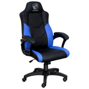 Cadeira Gamer Mad Racer V6 Turbo Azul GMADV6TVD