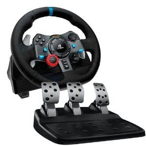 Volante Logitech Driving Force G29 - PS5, PS4, PS3 e PC