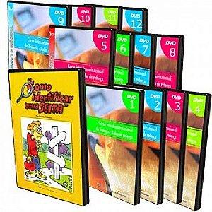 12 DVDs Teologia - Aulas de Reforço + 01 DVD Apologética 1 - Como Identificar uma Seita