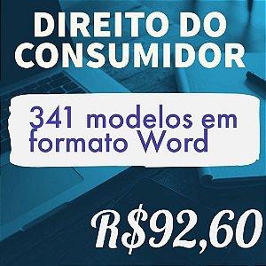 341 modelos de petições em formato Word - Direito do Consumidor