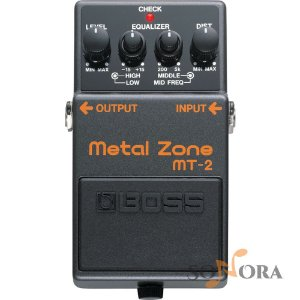 Pedal Boss Guitarra Distortion Metal Zone Mt 2