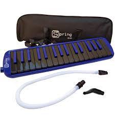 Escaleta Spring SG37 com Bag - Azul