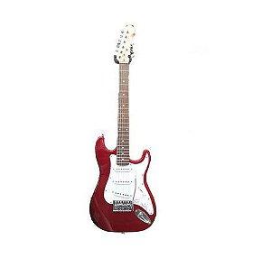 Guitarra Infantil Phoenix Strato Vermelha