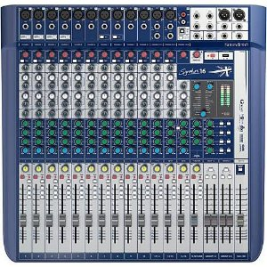 Mesa de Som Soundcraft Signature 16 USB - 16 Canais