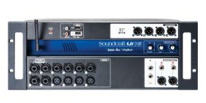 Mesa de Som Digital Soundcraft 16 Canais - UI16 - Original Harman