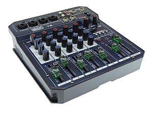 Mesa Som 6 Canais Boxx T6 C/Interface Usb Otg