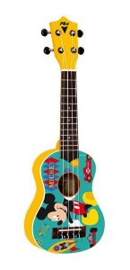 Ukulele Soprano PHX Mickey 21 UKP-MK1 - Amarelo