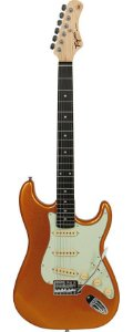 Guitarra Tagima TG500 - TW Series - Metallic Gold Yellow