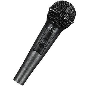 Microfone Dinâmico com Fio Kadosh - K-1