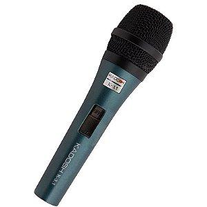 Microfone Dinâmico Com Fio Kadosh - K-3.1