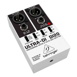 Direct Box Behringer Ultra-DI DI20 - 2 Canais