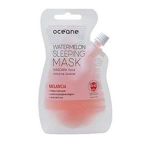 Máscara facial noturna de Melancia - Oceane