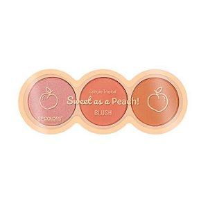 Trio de blushes Sweet as a Peach - SP Colors