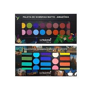 Kit de paletas Europa e Amazônia - Ludurana