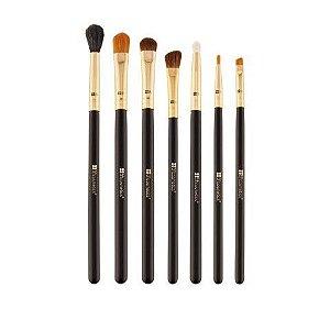 Kit com 7 Pincéis para olhos Eye Essential  - Bh Cosmetics