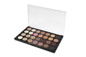 Paleta com 28 Sombras Neutral Eyes - BH Cosmetics