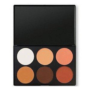 Paleta de Contornos e Blushes - BH Cosmetics