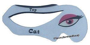 Stencil para delineado de gatinho