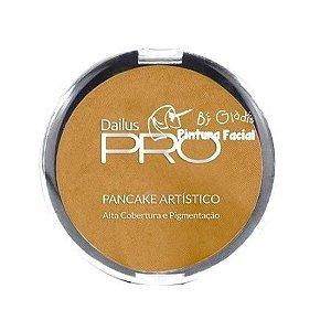 Pancake Artístico Dailus - Amarelo