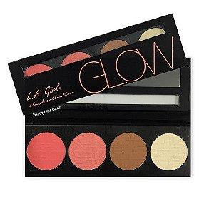 Paleta de Blushes Glow - L.A. Girl