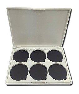 Paleta magnética 6 posições para Corretivos/Blushes/Pó -  Fand