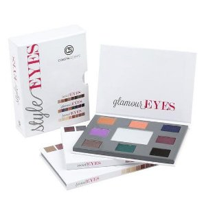 Kit com 3 Paletas Style Eyes  - Coastal Scents