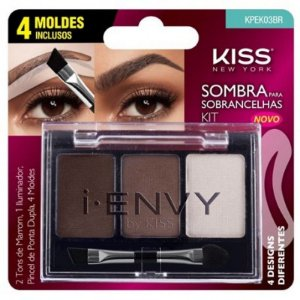 Kit Sombra para Sobrancelhas - Kiss New York