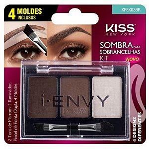 Kit Sombra para Sobrancelhas - Kiss New York