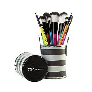 Kit com 10 Pincéis Pop Art - Bh Studio PRO