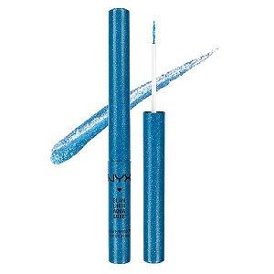 Delineador Aqua Luxe Azul - NYX