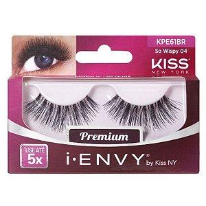 Par de Cílios Postiços Premium KPE61BR- First Kiss