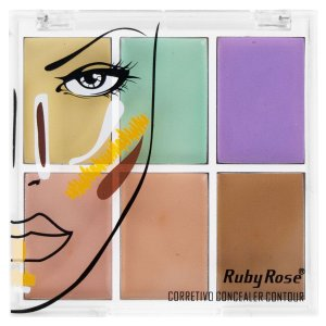 Paleta Corretivo Colorido - Ruby Rose