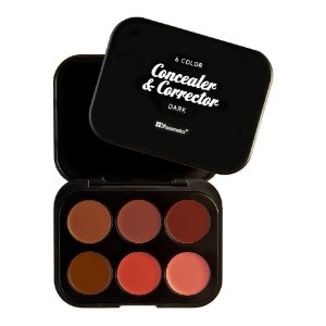 Kit 6 Corretivos Dark - BH Cosmetics