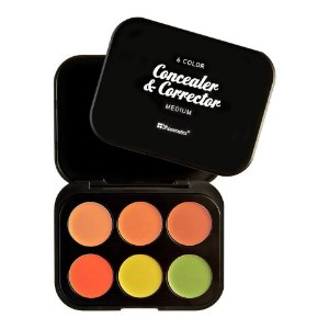 Kit 6 Corretivos Medium - BH Cosmetics