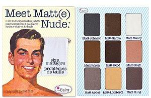 Paleta de Sombras Meet Matt(e) Nude - The Balm