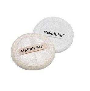 2 Esponjas para maquiagem EJ15 - Macrilan